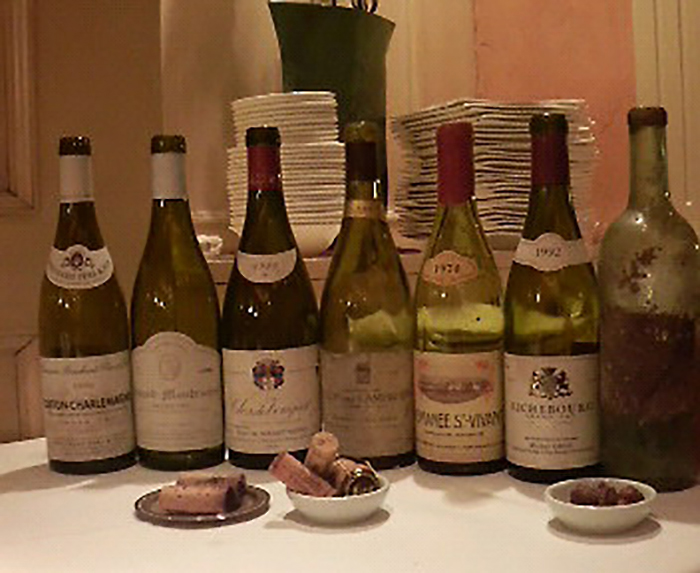 最初にご紹介させて頂いたChクーテ1899を 含むワイン会