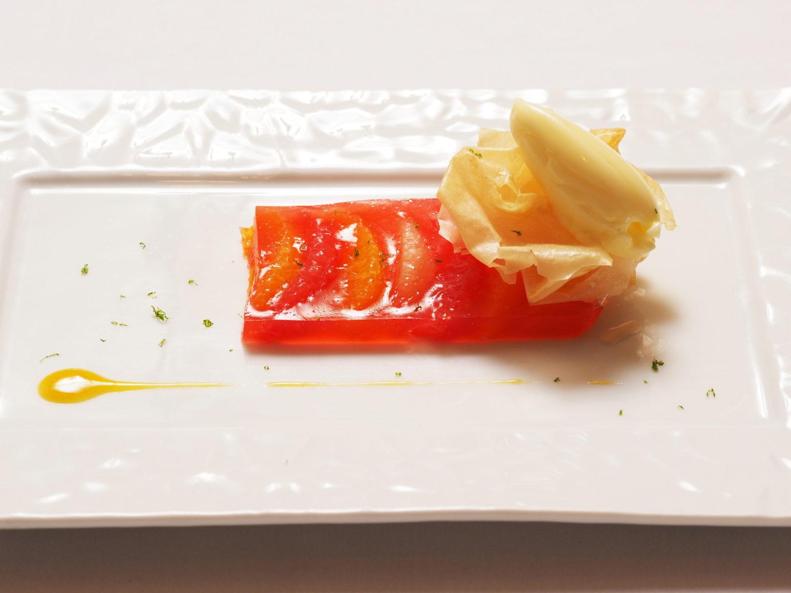 Gelee d`orange et Pamplemousse